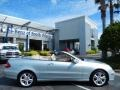 Diamond Silver Metallic - CLK 350 Cabriolet Photo No. 8