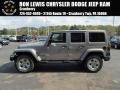 Billet Silver Metallic 2014 Jeep Wrangler Unlimited Sahara 4x4