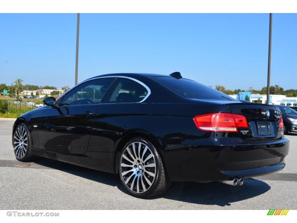 black sapphire metallic 2007 bmw 3 series 328i coupe. Black Bedroom Furniture Sets. Home Design Ideas