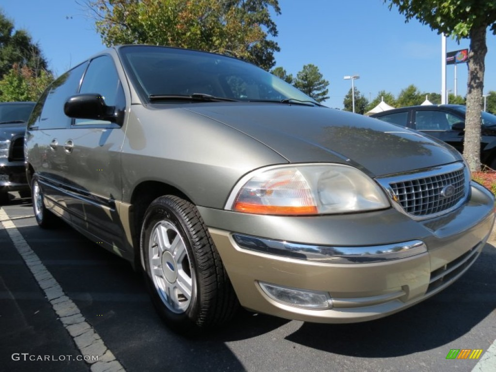 Spruce Green Metallic 2001 Ford Windstar Sel Exterior
