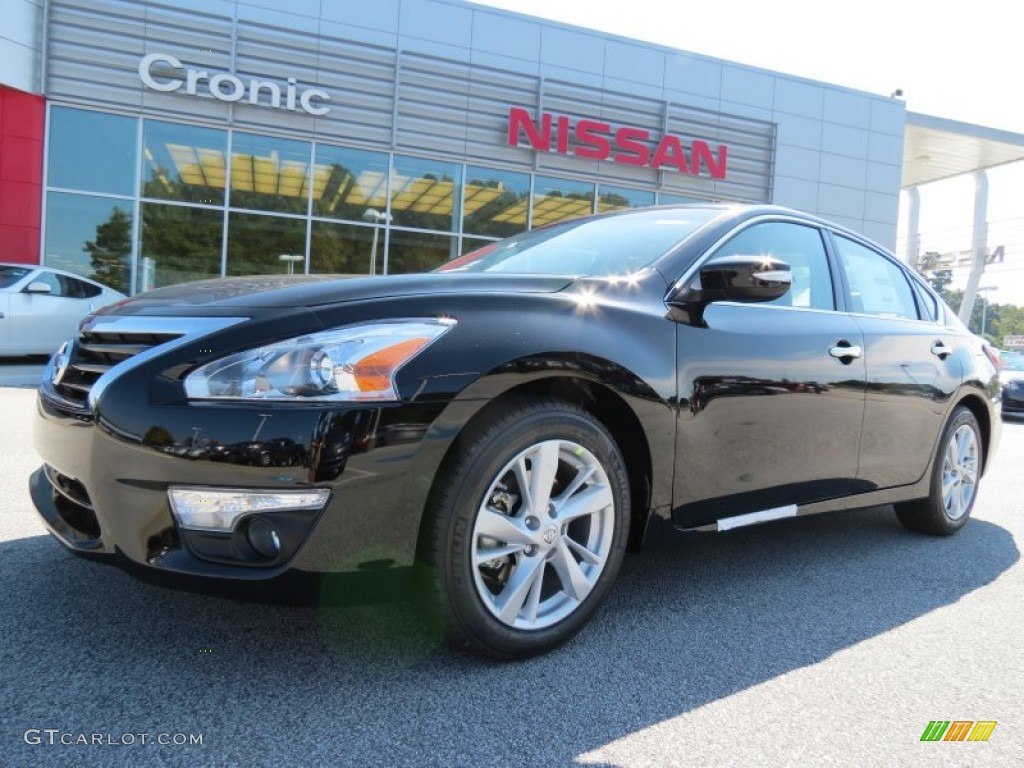 2014 super black nissan altima 2 5 sl 86451025 car color galleries. Black Bedroom Furniture Sets. Home Design Ideas