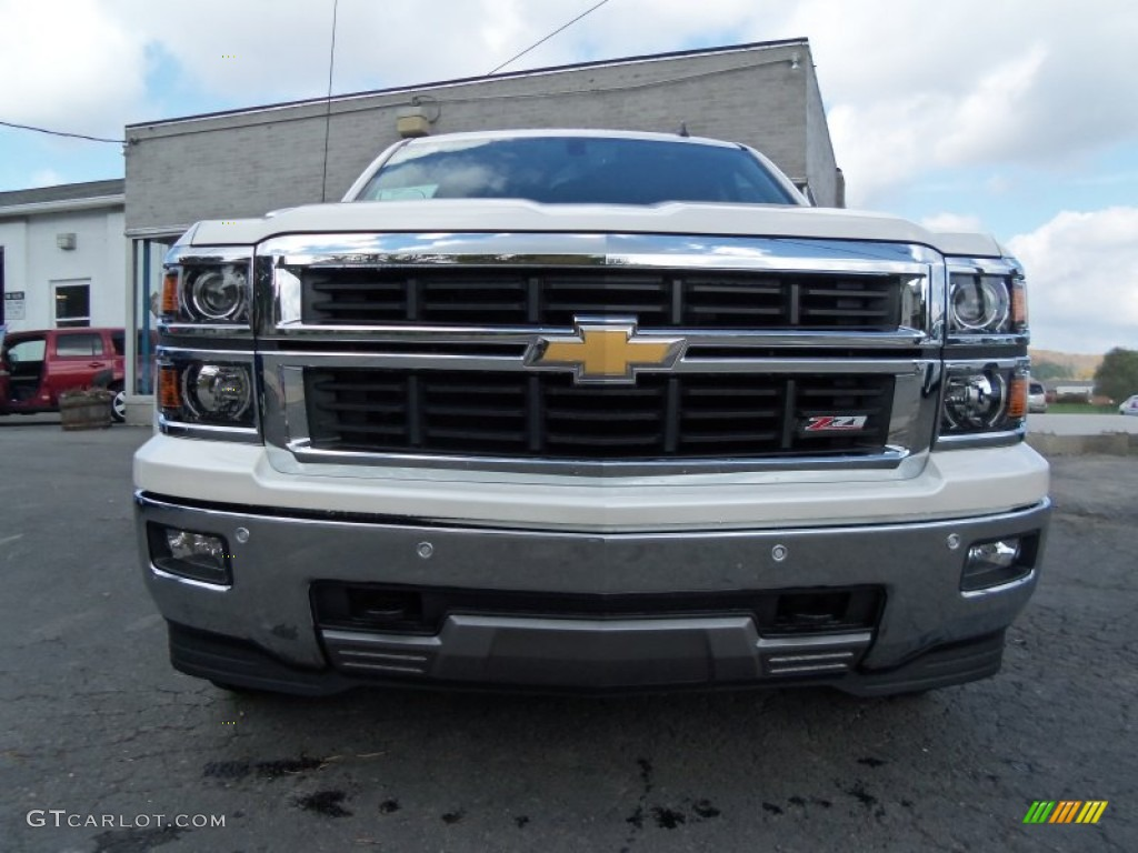 2014 white diamond tricoat chevrolet silverado 1500 ltz z71 crew cab 4x4 86505123 gtcarlot. Black Bedroom Furniture Sets. Home Design Ideas