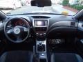 2010 Subaru Impreza Black Alcantara/Carbon Black Leather Interior Dashboard Photo