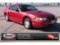 2000 Laser Red Metallic Ford Mustang V6 Coupe #86505226