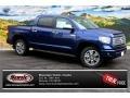 2014 Blue Ribbon Metallic Toyota Tundra Platinum Crewmax 4x4  photo #1