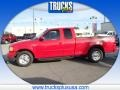 Bright Red 1999 Ford F150 XLT Extended Cab