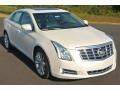 White Diamond Tricoat 2014 Cadillac XTS Luxury FWD