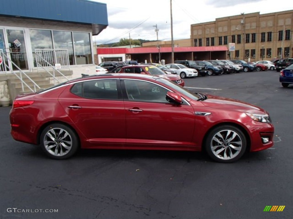 2014 remington red kia optima sx turbo 86530604 car color galleries. Black Bedroom Furniture Sets. Home Design Ideas