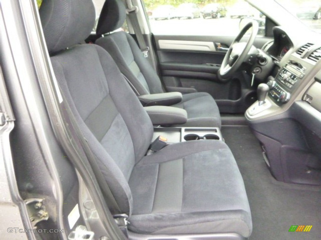 2011 CR-V EX 4WD - Polished Metal Metallic / Black photo #10