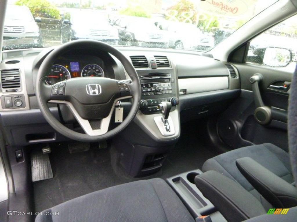2011 CR-V EX 4WD - Polished Metal Metallic / Black photo #17