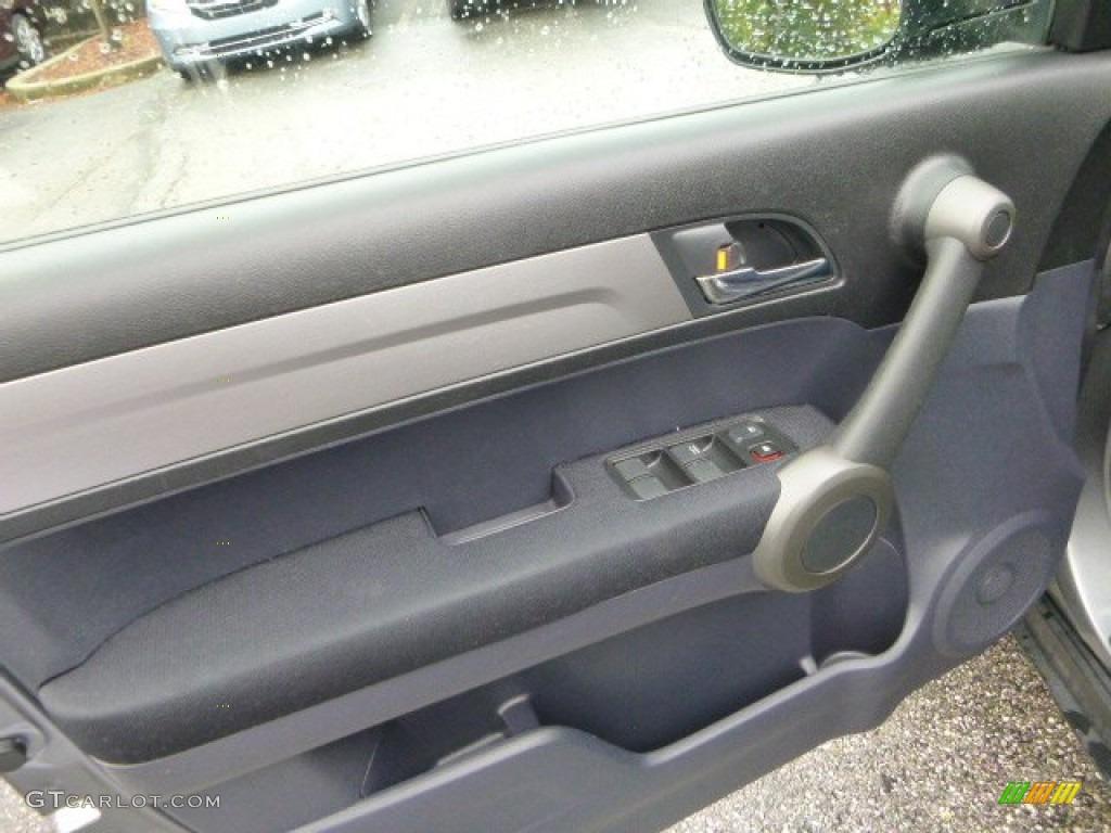 2011 CR-V EX 4WD - Polished Metal Metallic / Black photo #19