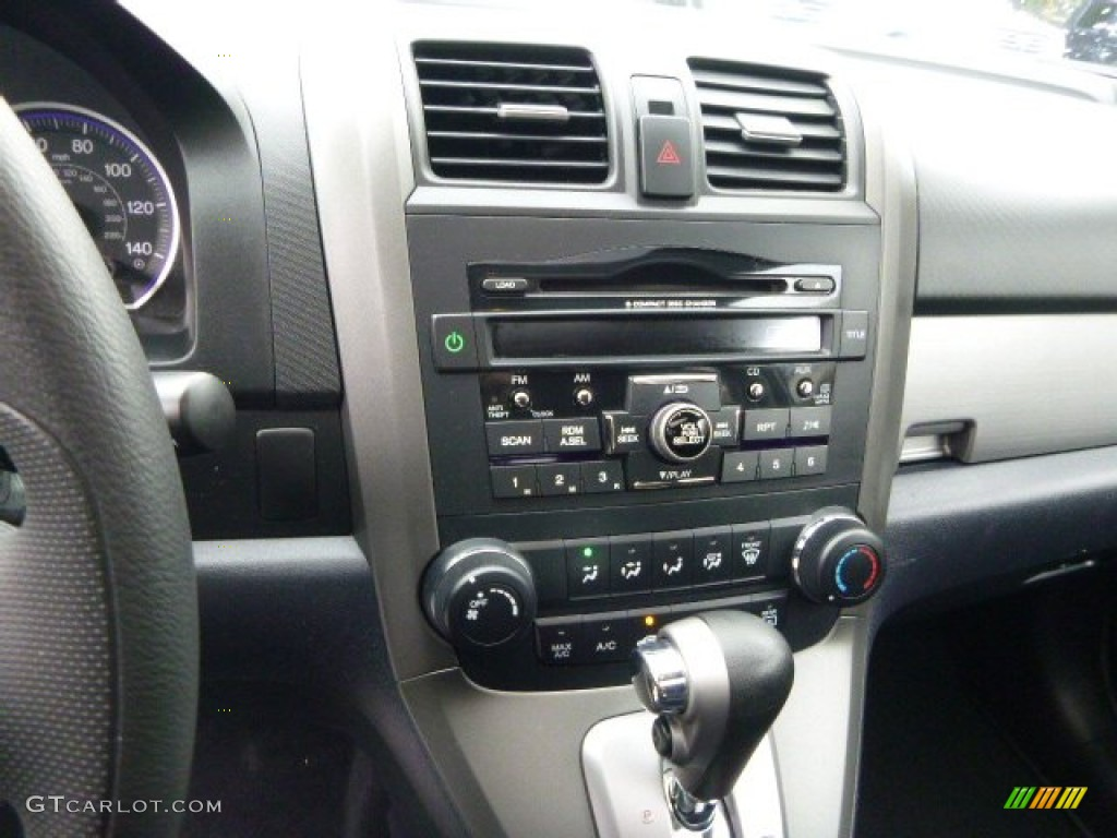 2011 CR-V EX 4WD - Polished Metal Metallic / Black photo #23