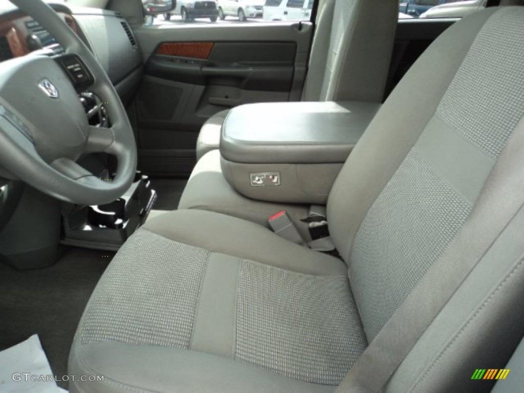2006 Ram 1500 ST Quad Cab 4x4 - Patriot Blue Pearl / Medium Slate Gray photo #5