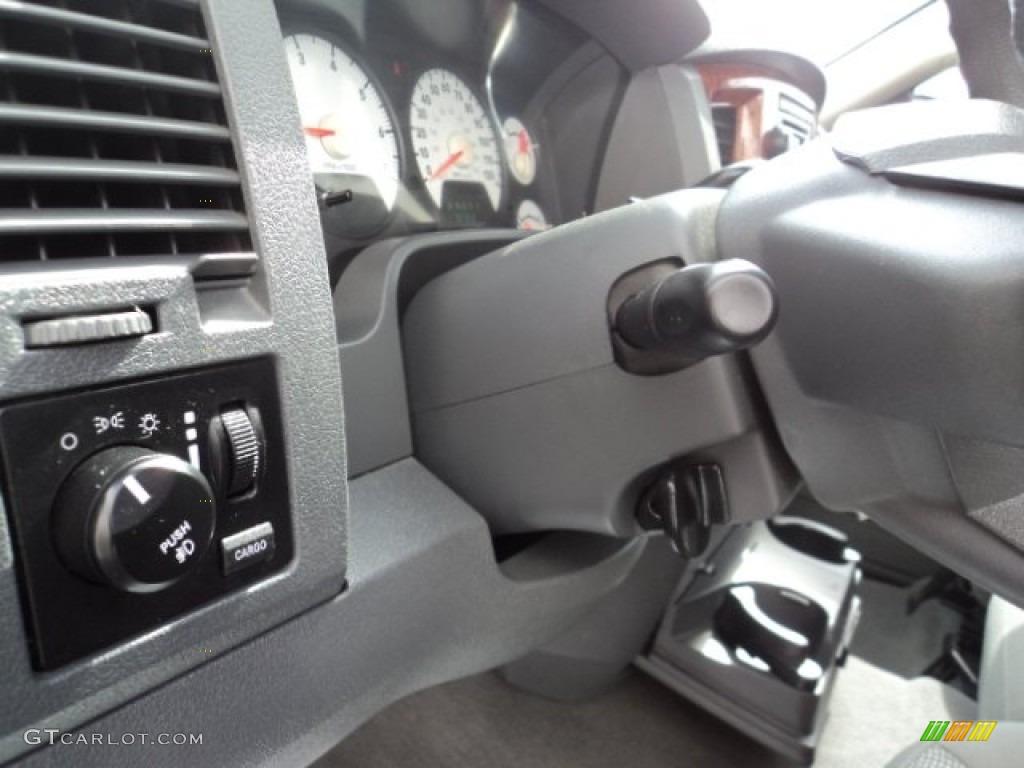 2006 Ram 1500 ST Quad Cab 4x4 - Patriot Blue Pearl / Medium Slate Gray photo #12