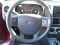 2007 Ford Explorer Black/Stone Interior Steering Wheel Photo