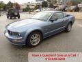 2006 Windveil Blue Metallic Ford Mustang GT Premium Coupe  photo #7