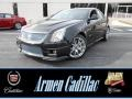 Black Diamond Tricoat 2014 Cadillac CTS -V Sedan