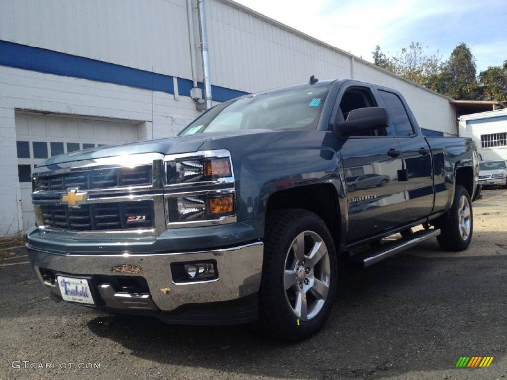 2014 blue granite metallic chevrolet silverado 1500 lt z71. Black Bedroom Furniture Sets. Home Design Ideas