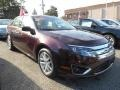 2011 Bordeaux Reserve Metallic Ford Fusion SEL V6 AWD  photo #1