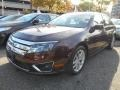 2011 Bordeaux Reserve Metallic Ford Fusion SEL V6 AWD  photo #7