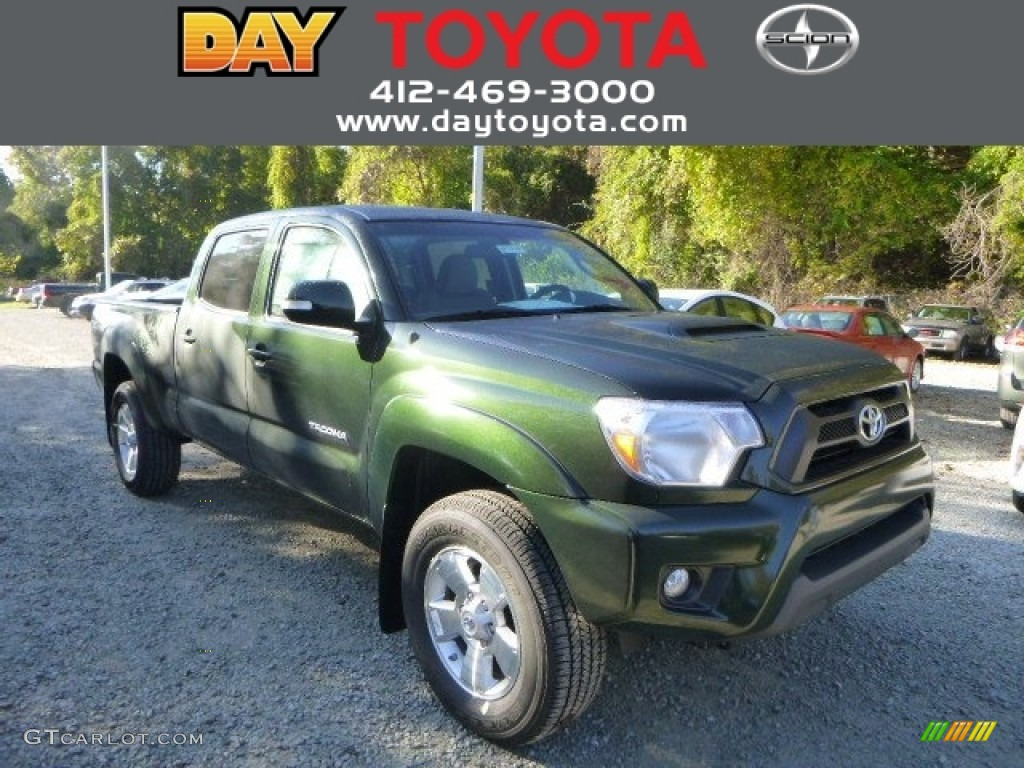 Awesome Spruce Green Mica Toyota Tacoma