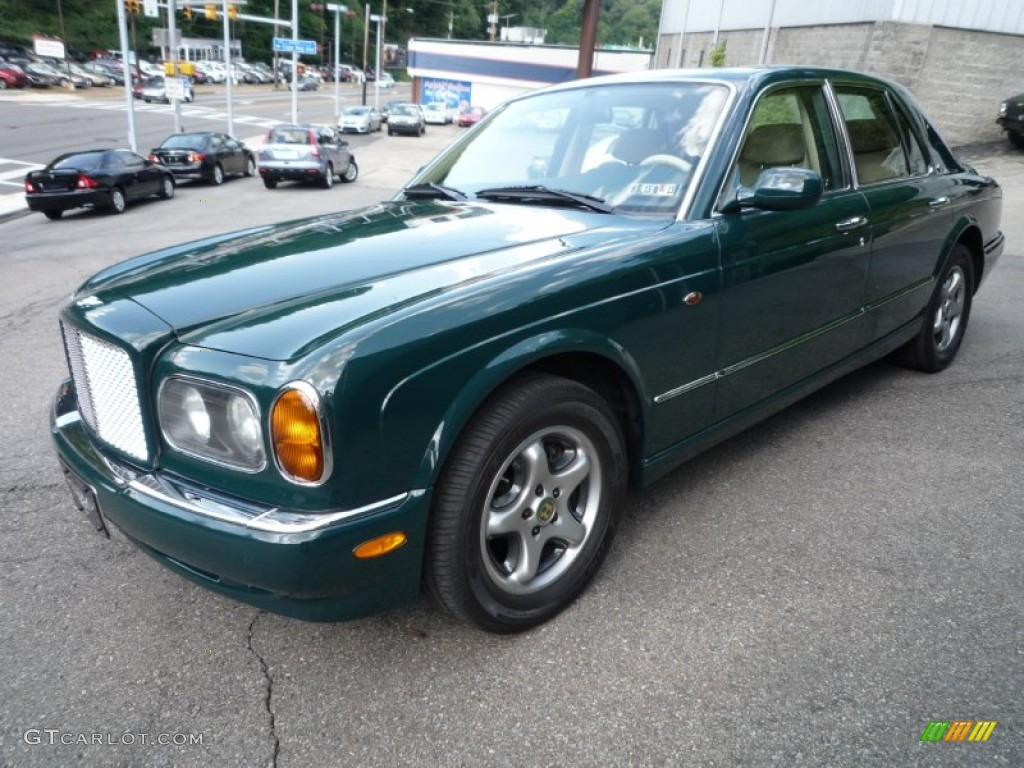 Mulsanne Green 1999 Bentley Arnage Standard Arnage Model