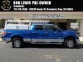 Blue Flame Metallic 2012 Ford F150 XLT SuperCrew 4x4