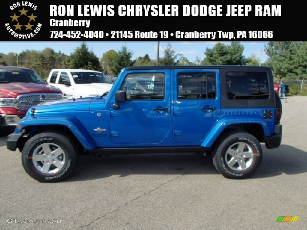 2014 Jeep Wrangler Colors Hydro Blue | Autos Post
