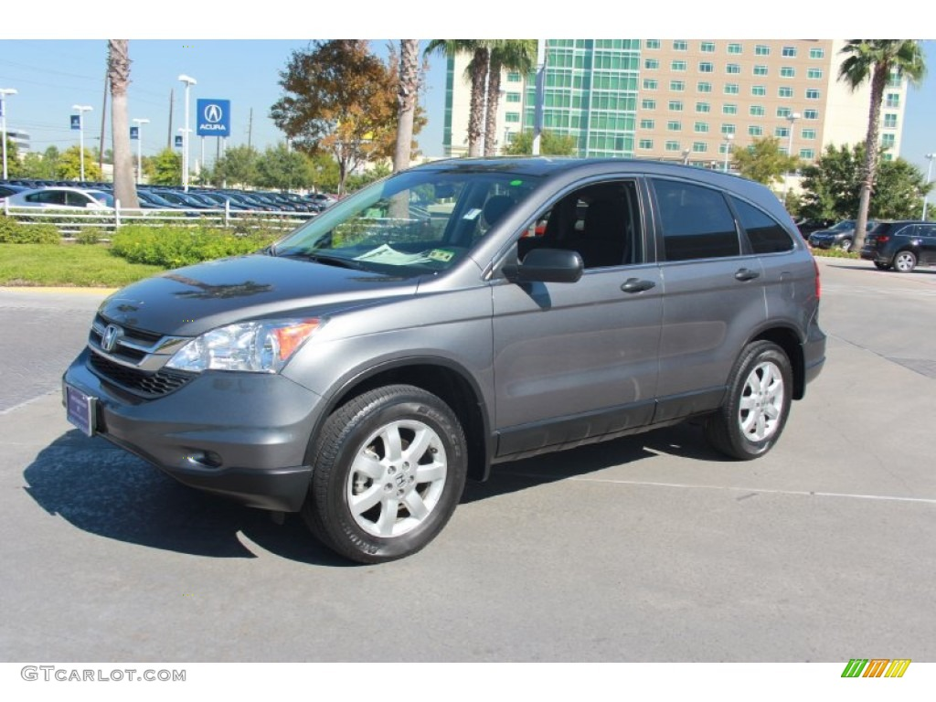 2011 CR-V SE - Polished Metal Metallic / Black photo #2