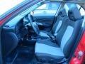 2004 Nissan Sentra SE-R Black/Silver Interior Interior Photo