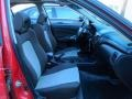 2004 Nissan Sentra SE-R Black/Silver Interior Front Seat Photo