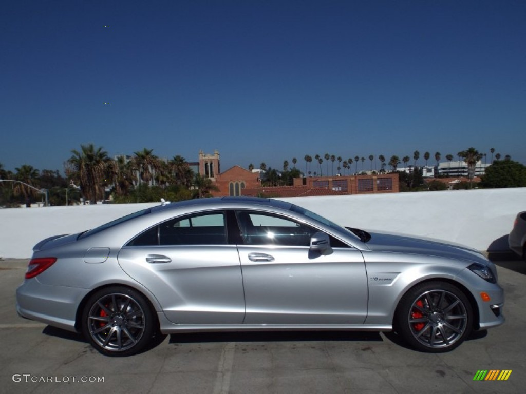 Iridium silver metallic 2014 mercedes benz cls 63 amg s for Mercedes benz silver