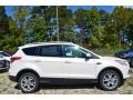2014 White Platinum Ford Escape Titanium 1.6L EcoBoost  photo #2