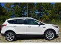 2014 White Platinum Ford Escape Titanium 2.0L EcoBoost  photo #2