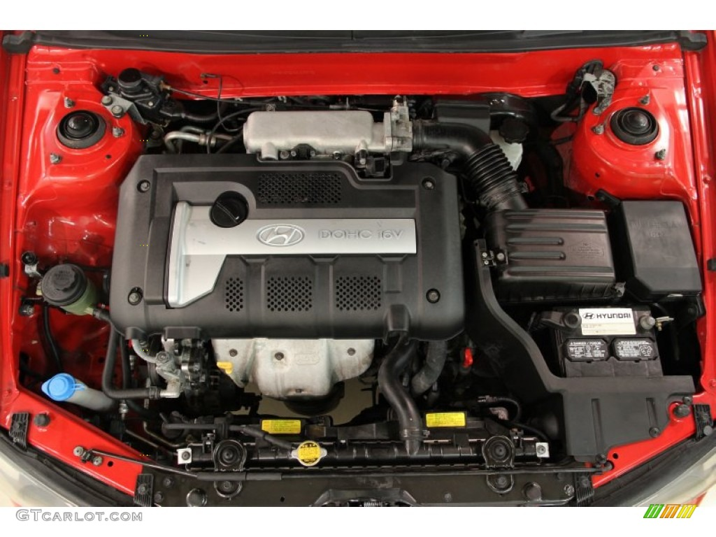 2003 Hyundai Elantra Gt Hatchback Engine Photos