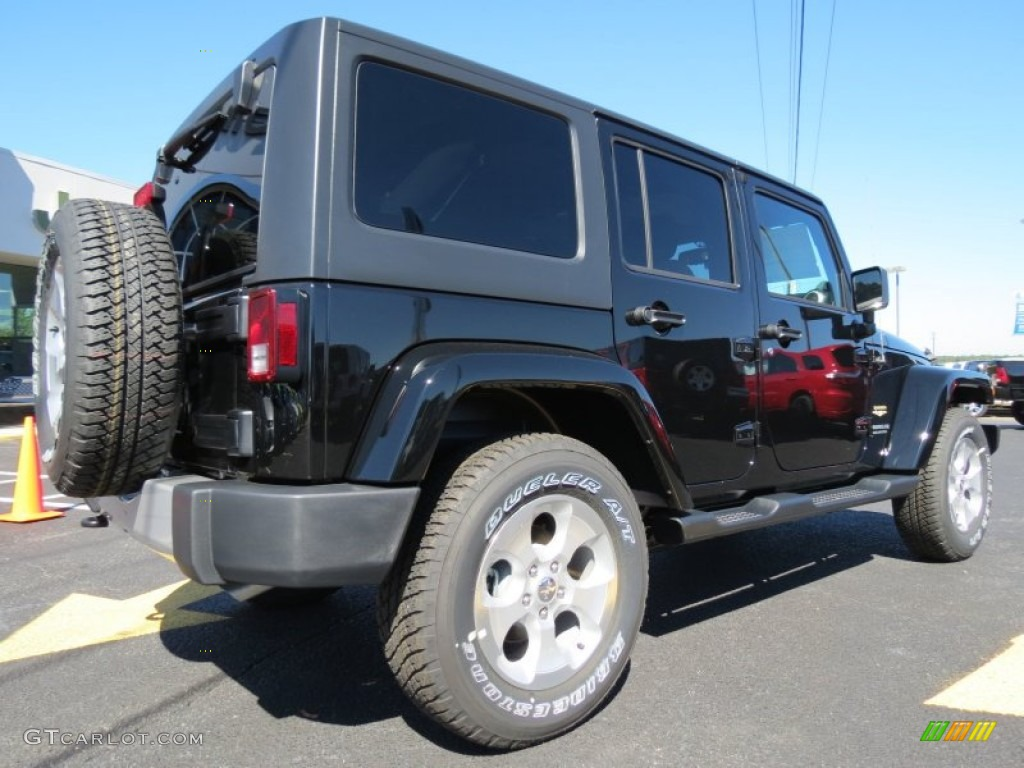 black 2014 jeep wrangler unlimited sahara 4x4 exterior photo 86685252. Black Bedroom Furniture Sets. Home Design Ideas