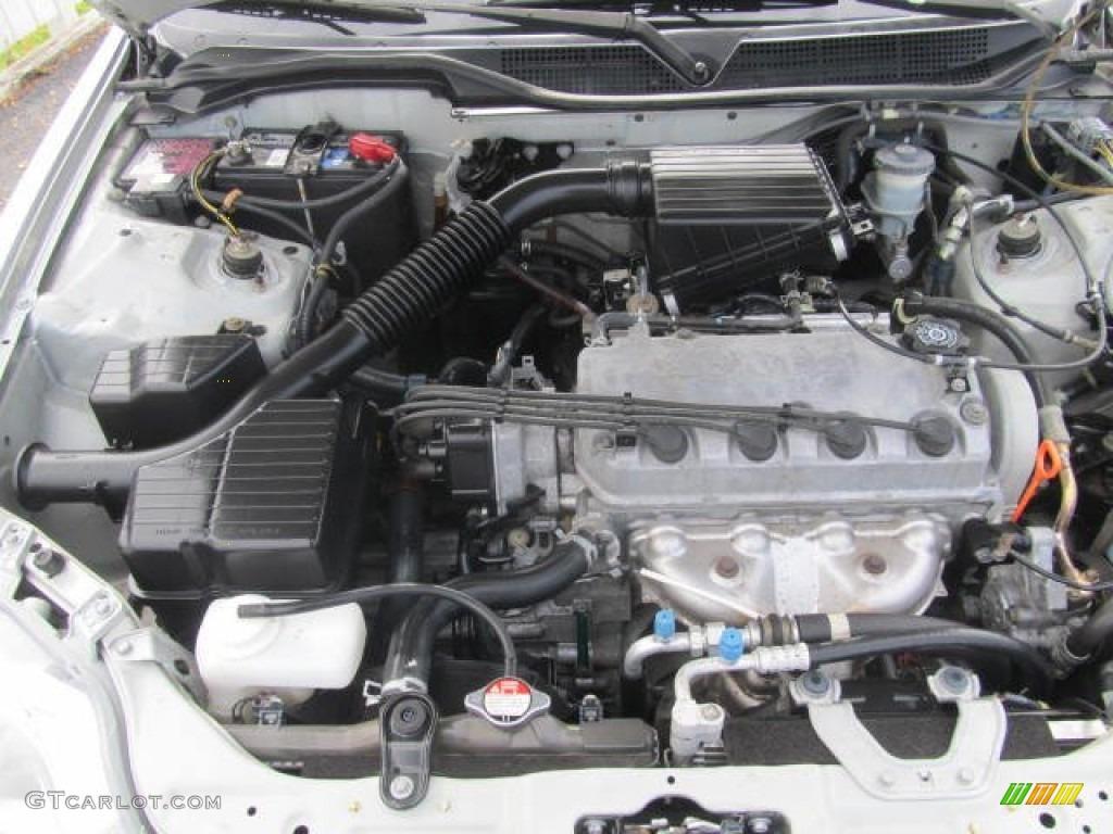 1999 Honda Civic LX Sedan Engine Photos | GTCarLot.com