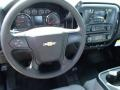 Jet Black/Dark Ash Steering Wheel Photo for 2014 Chevrolet Silverado 1500 #86704954