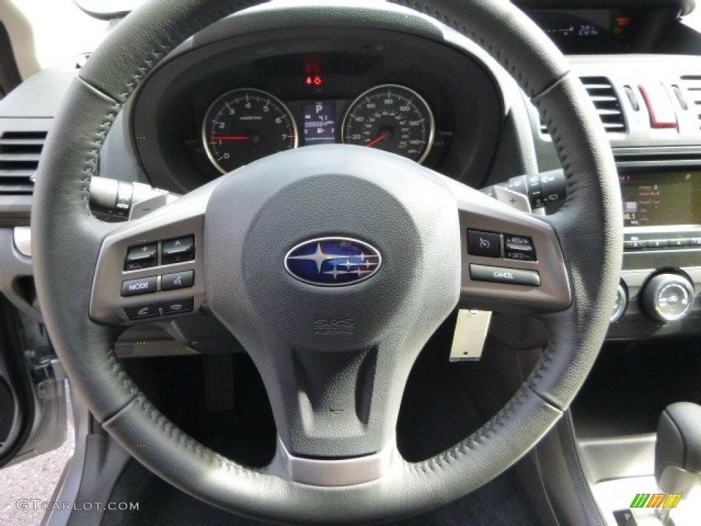 2014 subaru xv crosstrek 2.0i limited black steering wheel photo