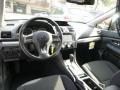 Black 2014 Subaru XV Crosstrek Interiors