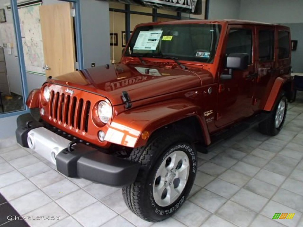 copperhead pearl 2014 jeep wrangler unlimited sahara 4x4 exterior. Cars Review. Best American Auto & Cars Review