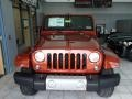 2014 Copperhead Pearl Jeep Wrangler Unlimited Sahara 4x4  photo #3