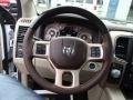 2014 1500 Laramie Longhorn Crew Cab 4x4 Steering Wheel