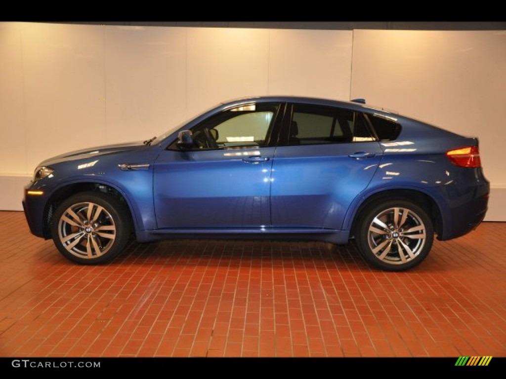 2010 Monte Carlo Blue Metallic BMW X6 M 86724620 Photo 3