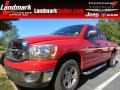 2006 Flame Red Dodge Ram 1500 SLT Quad Cab #86725040