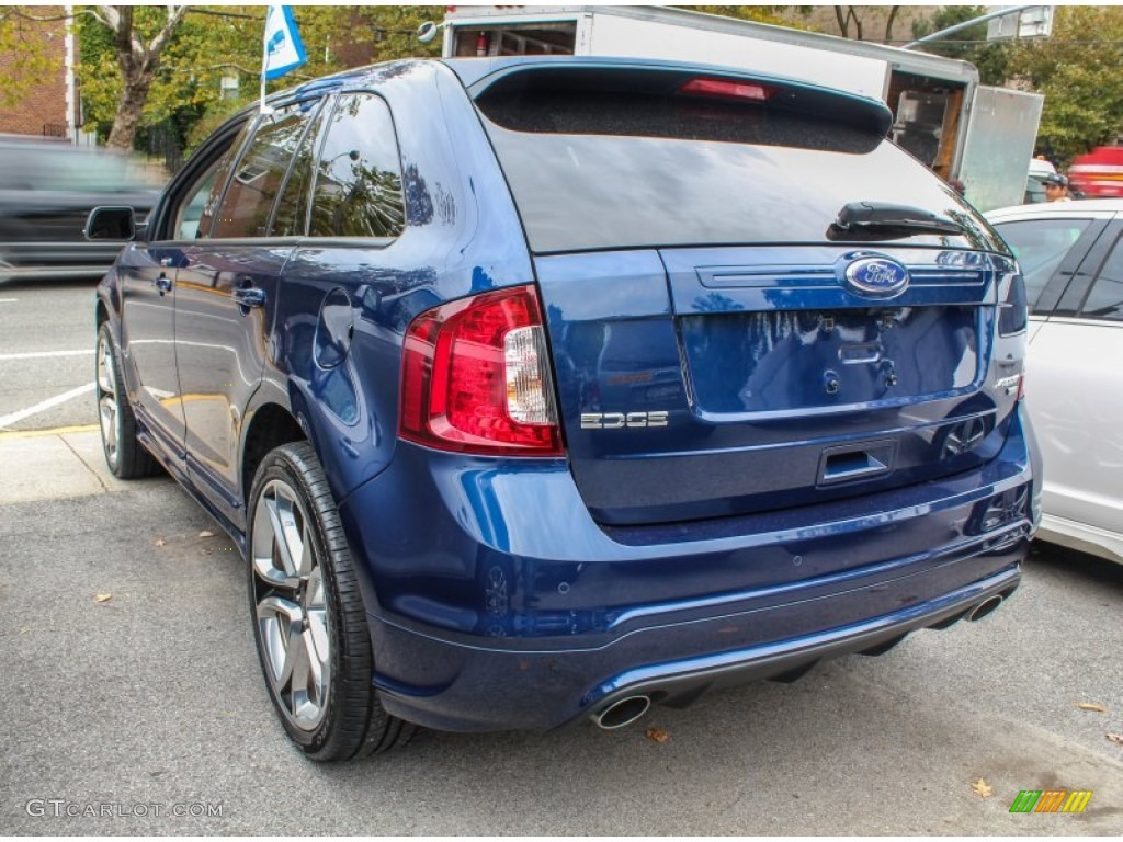 dark blue pearl metallic 2012 ford edge sport awd exterior photo 86774625. Black Bedroom Furniture Sets. Home Design Ideas