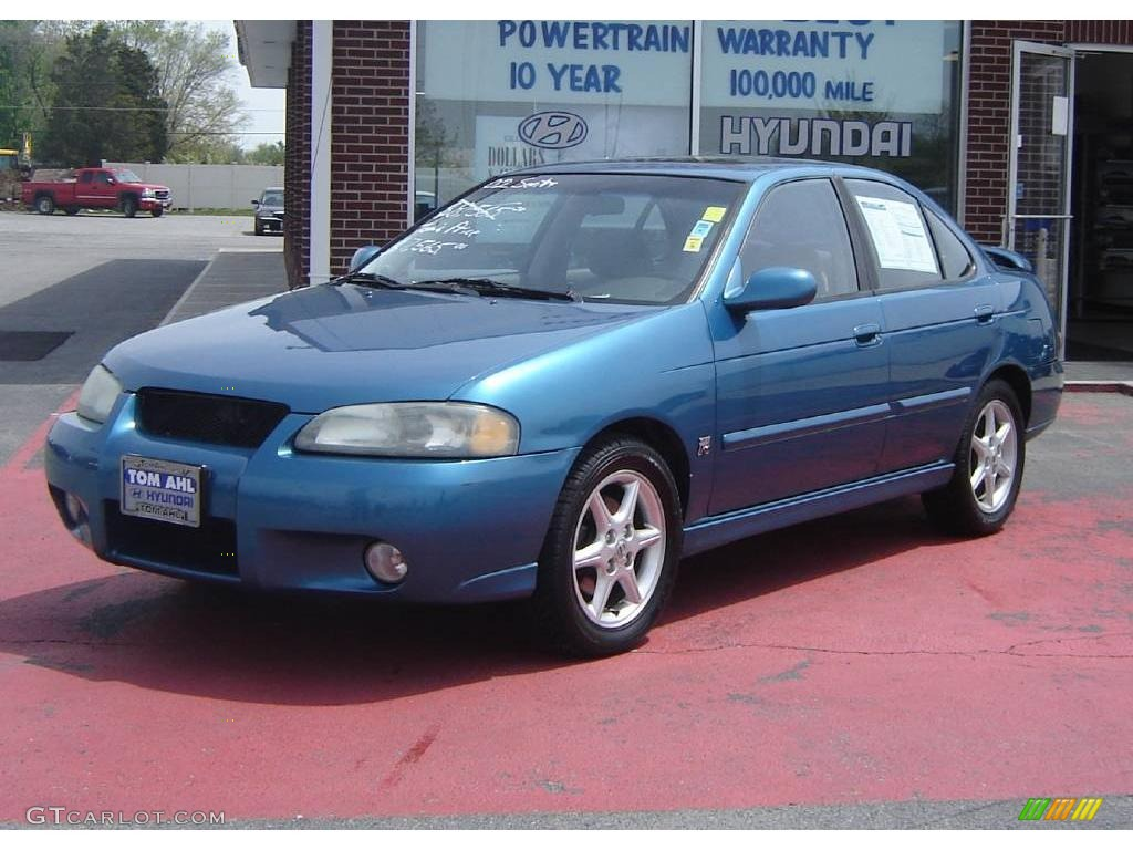 2002 vibrant blue metallic nissan sentra se r 8653497 photo 8 car color galleries. Black Bedroom Furniture Sets. Home Design Ideas