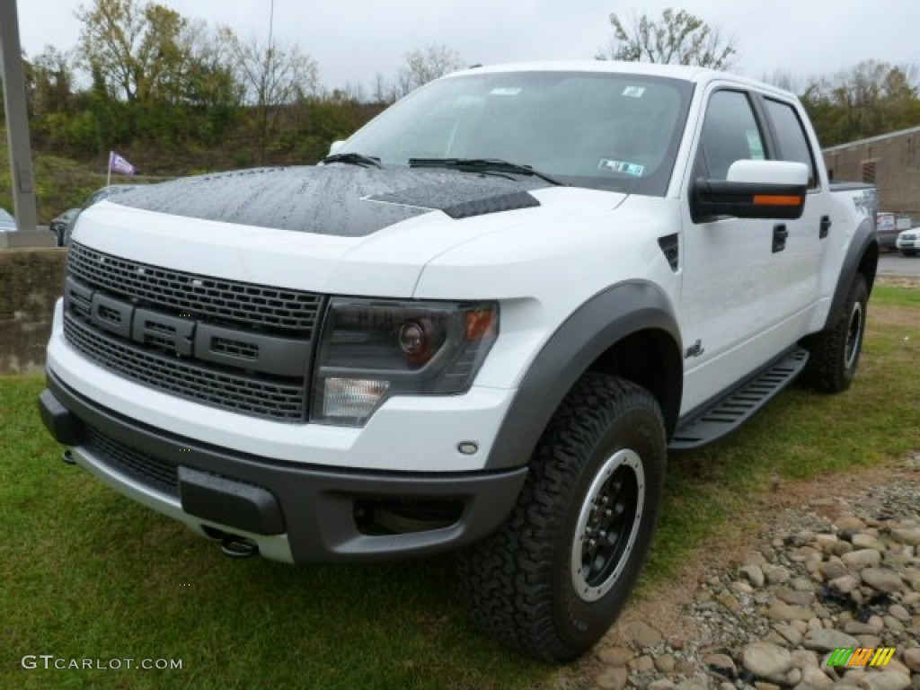 oxford white 2013 ford f150 svt raptor supercrew 4x4 exterior photo 86785758. Black Bedroom Furniture Sets. Home Design Ideas