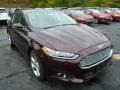 2013 Bordeaux Reserve Red Metallic Ford Fusion SE 2.0 EcoBoost  photo #1