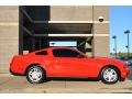 2011 Race Red Ford Mustang V6 Coupe  photo #2